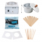 JMT Beauty Professional Wax Warmer Kit, includes Cirepil Blue Bead Wax (400g) and accessories