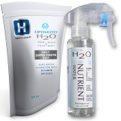 optimised- Best Anti Ageing Lightweight Hydrating Mist For Hair, Face, Skin, Vitamin C Toner + Hyaluronic Acid serum, Maximum Clinical Strength made by a Stanford Ph.D Doctor! MULTI-BOND Coconut Oil, Sunflower, Sea Buckthorn LARGE 118ml