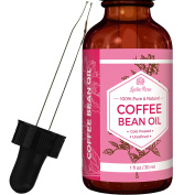 #1 TRUSTED Coffee Bean Oil by Leven Rose - 100 % Natural Pure Cold Pressed Unrefined Coffee Bean Oil - 30ml Bottle