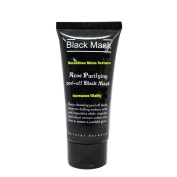 Blackhead Remover, Purifying Deep Cleansing Acne, Peel off Face Mask, Black Mud, A Comparable to Pilaten and Shills