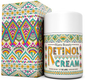 Retinol Cream Moisturiser for Face & Eyes - Anti Ageing, Wrinkles, Fine Lines, Acne, Scars, Even Skin Tone - Best Natural & Organic Hyaluronic Acid, Green Tea, Vitamin E - Use Night & Day - 50ml