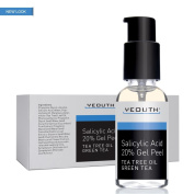 Salicylic Acid 20% Professional Chemical Gel Peel for Skin with Tea Tree, Green Tea, Acne Scars, Acne Treatment, Breakouts, Whiteheads, Blackheads, Pore Size, Wrinkles, Anti-Ageing Benefits GUARANTEED
