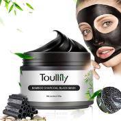 Blackhead Remover Cleaner Purifying Deep Cleaning Black Mud Face Mask Peel-off,Blackhead Remove,Face mask Black,Bamboo Charcoal tearing Blackhead Removal Mask Deep Cleansing