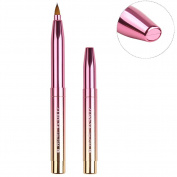 Lip Brush Retractable Tools Lip Punch Applicators Liner With Cap Makeup Brush