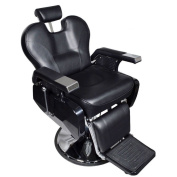 Real Relax All Purpose Classic Beauty Hydraulic Recline Barber Chair Salon Spa Shampoo Equipment Black