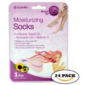 Moisturising Socks,Foot Moisturising Socks with Sunflower Seed Oil,Avocado Oil,Vitamin E for Women Men