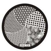 Nail Art Template, Ikevan Christmas DIY Fashion Pattern Nail Art Image Stamp Stamping Plates Manicure Template Nail Art Plate