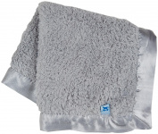 Little Unicorn Chenille Security Blanket - Grey