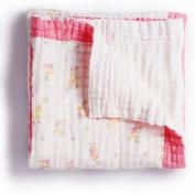 BabaMate Premium 6 Layer Organic Muslin Everything Blanket - Oversized 110cm x 110cm - Best Baby/Toddler Gift - Toddler Blanket/Dream Blanket
