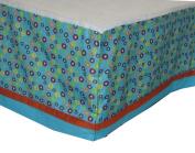 Jungle Friends Kids Line Cotton (CRIB SKIRT ONLY) Size Crib Baby Bedding Decor