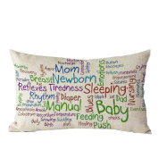 Pillow Case,TOPUNDER Mother's Day Rectangle Sofa Bed Decoration Cushion Cover J