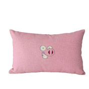 Pillow Case,TOPUNDER Cute Rectangle Sofa Bed Decoration Festival Cushion Cover H