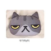 X-dolls Various Facial Cat Shaped Cushion Pillow Blanket