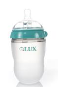 LUX Baby Bottle | Anti Colic / Anti-colic| Infant Bottles | Newborn | Silicone| Mimics Breastfeeding | Nursing | BPA Free | No Leaking| by LUX Baby Bottle