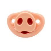 AxiEr Safe Funny Pig Nose Baby Infant Teether Pacifier Pacy Orthodontic Nipples