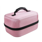 Hard EVA Travel Case for Spectra Baby USA S2 Double / Single Breast Pump 1.5kg by Hermitshell