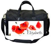 Poppy Scatter Customizable Nappy Bag