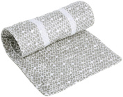 Oilo Diamond Changing Pad Topper, Stone