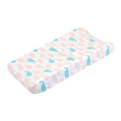 Just Born Sail Into Your Dreams Changing Pad Cover, Pink