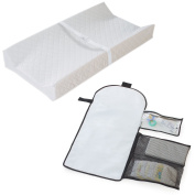 Summer Infant Contoured Changing Pad with Change Away Travel Nappy Changing Pad