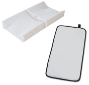 Summer Infant Contoured Changing Pad with Quickchange Travel Nappy Changing Pad
