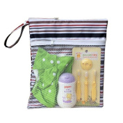 Royal Fair Wet Bags for Cloth Nappies Dry Wet Amphibious Waterproof Organiser Bag