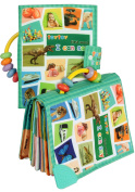 TEYTOY Baby Seeing the World and Learning Words Cloth Book Early Education Toy for Over 0 Years