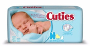 First Quality Baby Nappy Cuties Tab Closure Newborn Disposable Heavy Absorbency