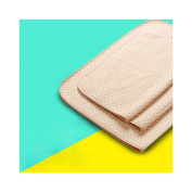 Huluwa Changing Pad Baby Changing Mat Cotton Breathable Waterproof Urine Mat Washable Mattress Pad for Newborn, Brown, 50cm x 70cm