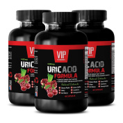 Uric acid pain - URIC ACID FOMULA NATURAL EXTRACT 1430Mg - Goldenrod, Turmeric, Astragalus - 3 Bottles 180 Capsules