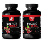 Kidney support - URIC ACID FOMULA NATURAL EXTRACT 1430Mg - Goldenrod, Horsetail - 2 Bottle 120 Capsules