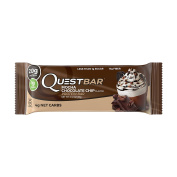 Quest Nutrition Protein Bar, Mocha Chocolate Chip, 20g Protein, 4g Net Carbs, 180 Cals, Low Carb, Gluten Free, Soy Free, 60ml Bar, 12 Count