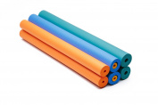 Colour Foam Tube Grip Set for Elderly, Disabled, & More - Closed Cell - 8 Pack