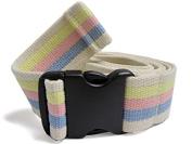 JDM Medical Cotton Gait Belt with Plastic Buckle, Pastel