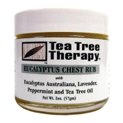 Tea Tree Therapy Eucalyptus Australian Chest Oil, Lavender Peppermint and Tea Tree, 60ml