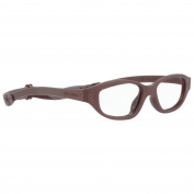 Miraflex Eva Sport Shape Kids Eye Glass Frames | 43/15| Dark Brown | Age:7-10 Yrs.