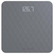 Balance Silicone Digital Bathroom Scale, Measures Body Weight, Large Precision Glass Top, Accurate Backlit Shine Through Display