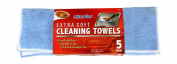 Detailer's Choice 3-605-7 36cm x 36cm 5-Pack Extra Soft Microfiber Cleaning Towel - 1-Each