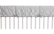 Cocalo Voile Pinwheel Quilted Rail Guard-Grey