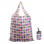 Bazaar Random Colour Pouch Tote Reusable Handle Eco Folding Shopping Bags Carrier Handbag Beach Gym Swimming