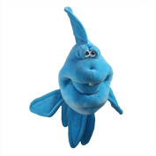 "Funny Friends Blue Plush Fish with Tooth ""Hotfish"" Large - 50cm"