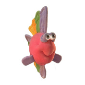 "Funny Friends Pink Plush Fish ""Rainbow 'Bout"" Small - 28cm"