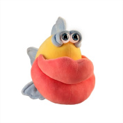 "Funny Friends Plush Fish Yellow, Blue and Pink ""Lippe Momba"" Small - 30cm"