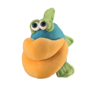 "Funny Friends Plush Fish Blue, Green and Tangerine ""Lippe Momba"" Small - 30cm"