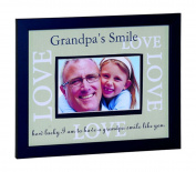 Grand Parent Co Grandpa's Smiles Photo Frame