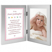 "Godchild Gift from Godparents ""To Our Sweet Goddaughter"" Add Photo"