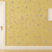 Wall Sticker ZTY66, 110Pcs Stars Mural Stickers Decor Decals Art for Living Room Nursery Bedroom