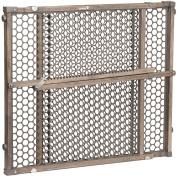 Safety 1st Vintage Grey Wood Gate, Grey