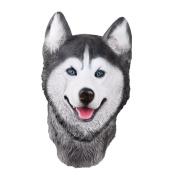 PartyStory Siberian Husky Latex Animal dog Head Mask Novelty Costume rubber Masks