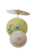 P 'tit clown - 62440 Hand Painted Chinese Umbrella - One Size - Colour may vary